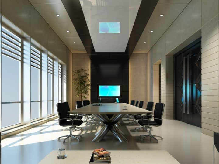 Orange County Conference Room by Scottsdale Interior Designer