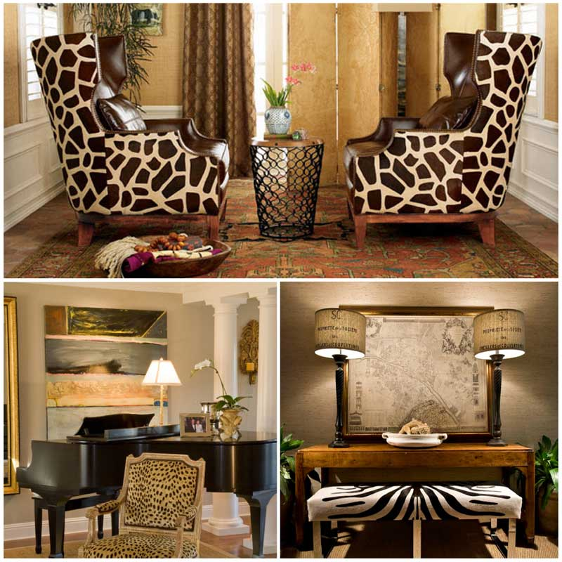 Animal Prints - scottsdale interior decorators